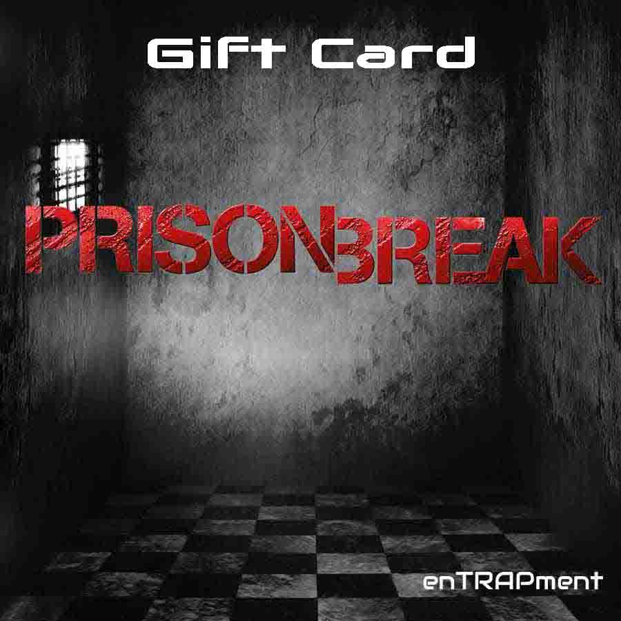 "Gift Card ""Prison Break"""