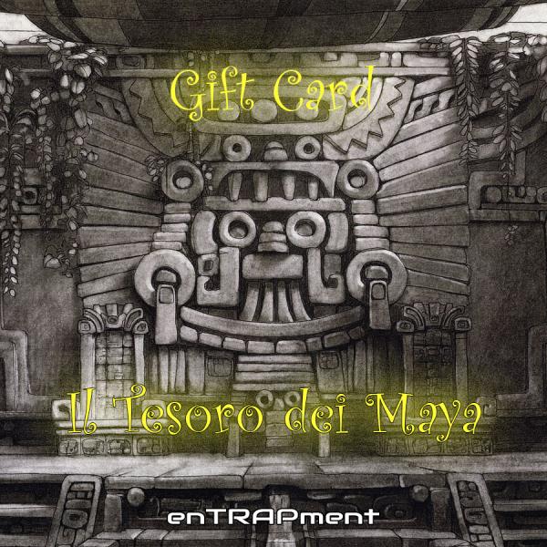 "Gift Card ""Il Tesoro dei Maya"""